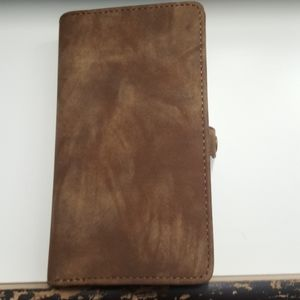 """Wallet case for iphone XR 6.1"""" color brown new"""